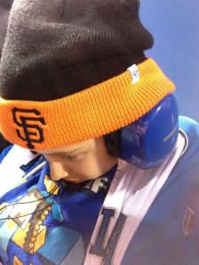 Little Man at Giants game