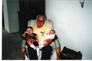 papa and babies thanksgiving