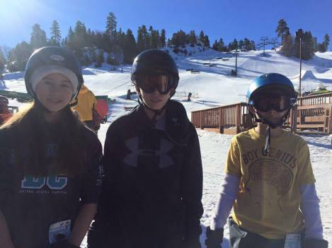 the Herd ready to hit the slopes